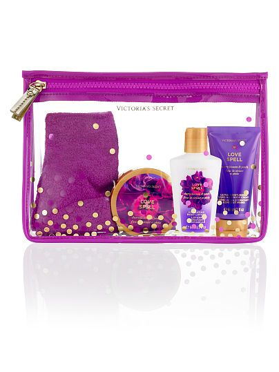 "VS Fantasies: ""Love Spell"" Bedtime Beauty Kit ($21.00-28.00) - cherry blossom & peach 
