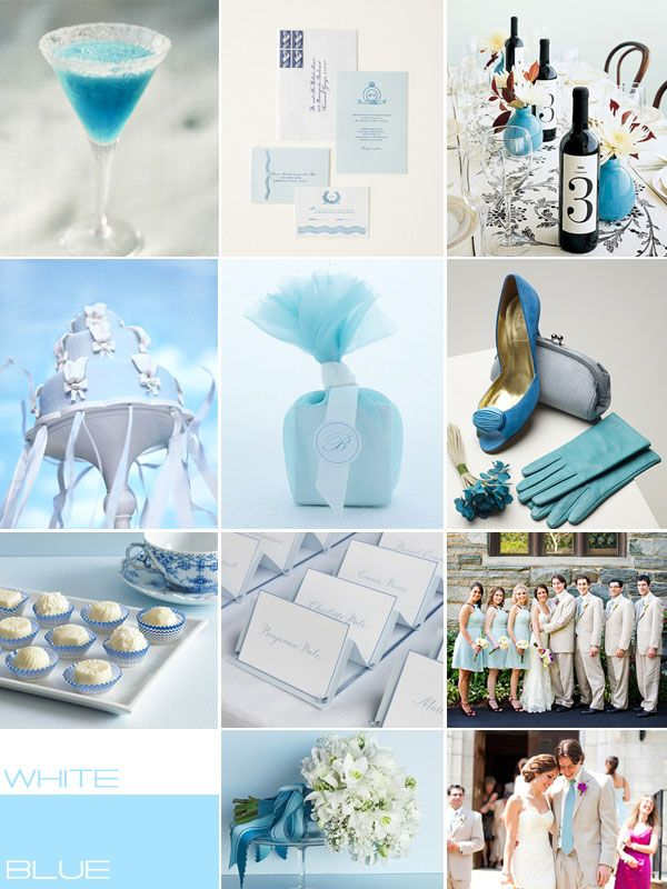 Wedding Palletes My Brother Is Getting Married Baby Blue WeddingsBlue White