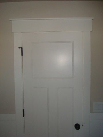 Shaker style interior doors shaker style pinterest for Cottage style interior trim
