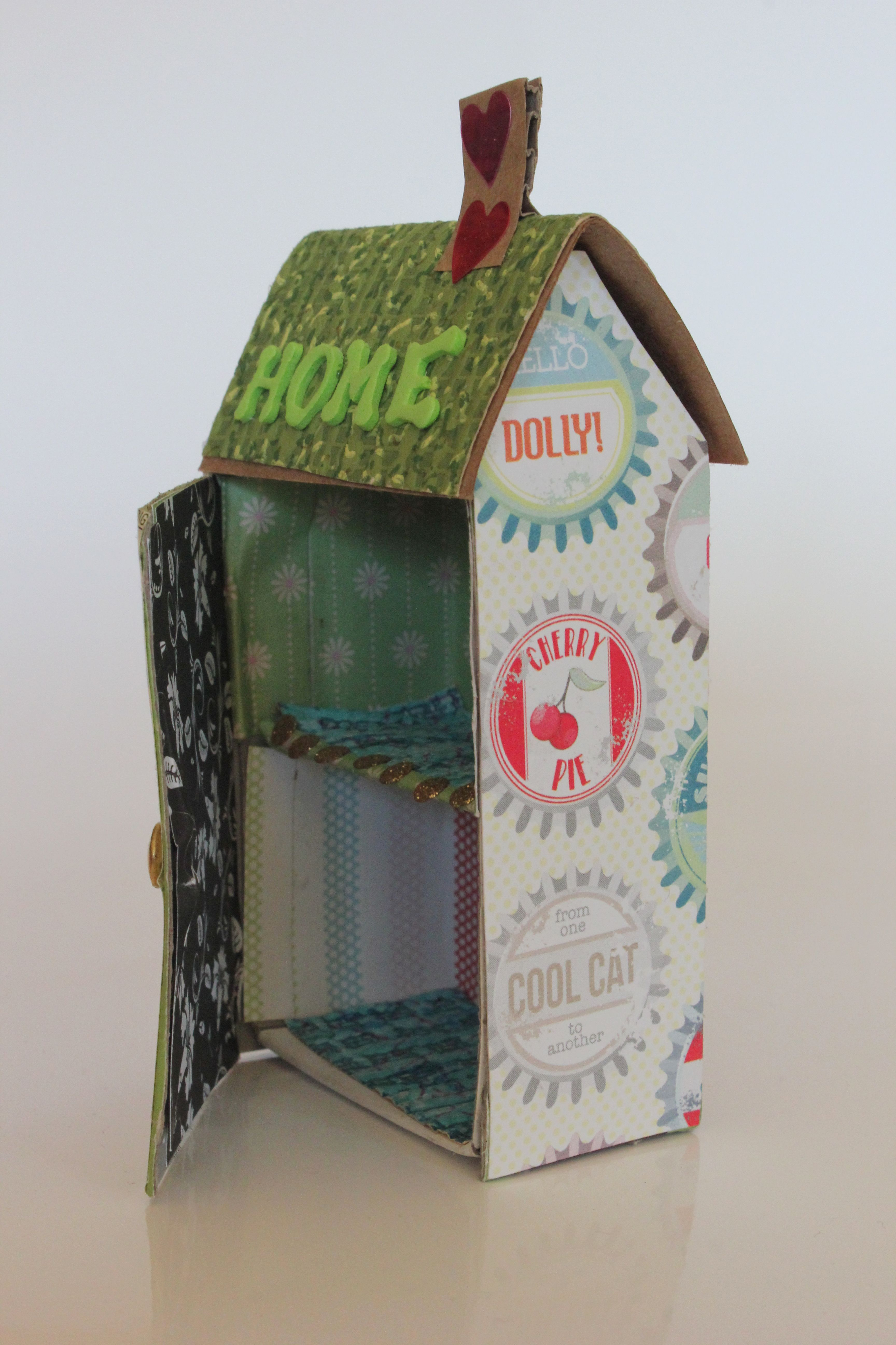Matchbox house match boxes pinterest maison boite and mod le maison - Fabrication maison en carton ...