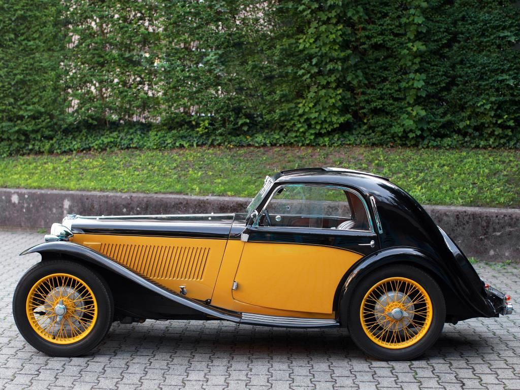 The MG T Series: 100 Most Beautiful Cars of History, 30 (Click for ...