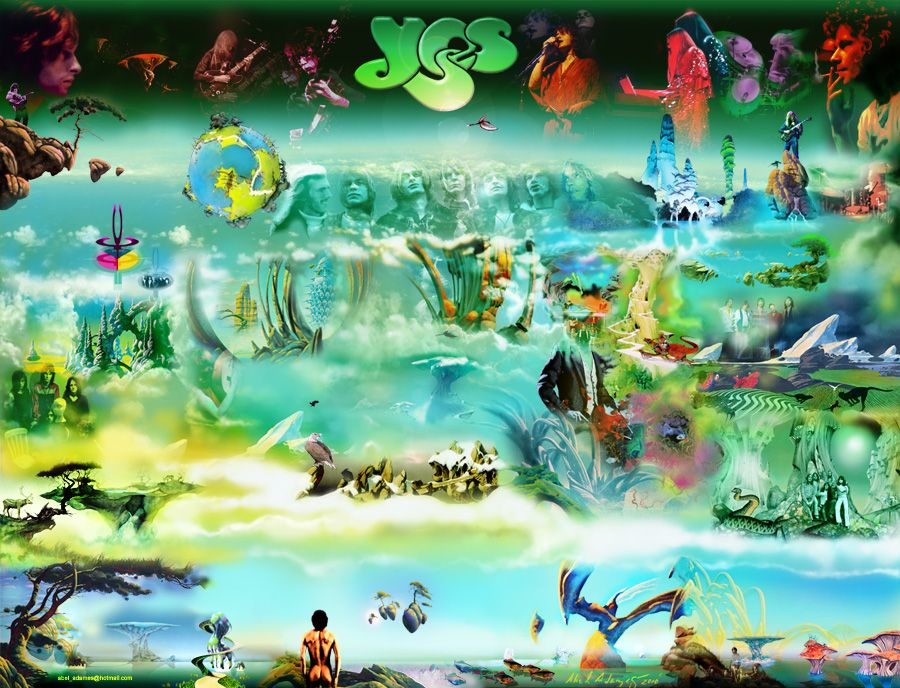 Roger Dean Yes Album Covers Google Search With Images Roger