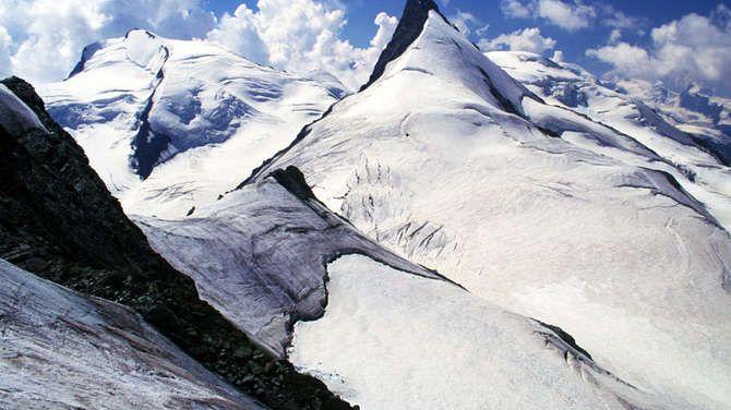 Walliser Alpen Rimpfischhorn Mit Strahlhorn Mit Bildern