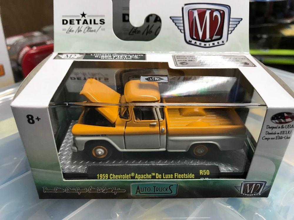 1 64 M2 Machines Auto Trucks R50 1958 Chevrolet Apache Deluxe