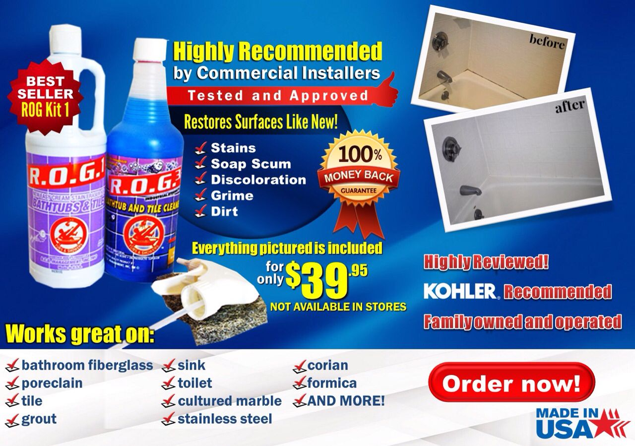 Voted best tub cleaner https://ww… | Rog3.com. Is VOTED #1 the best ...