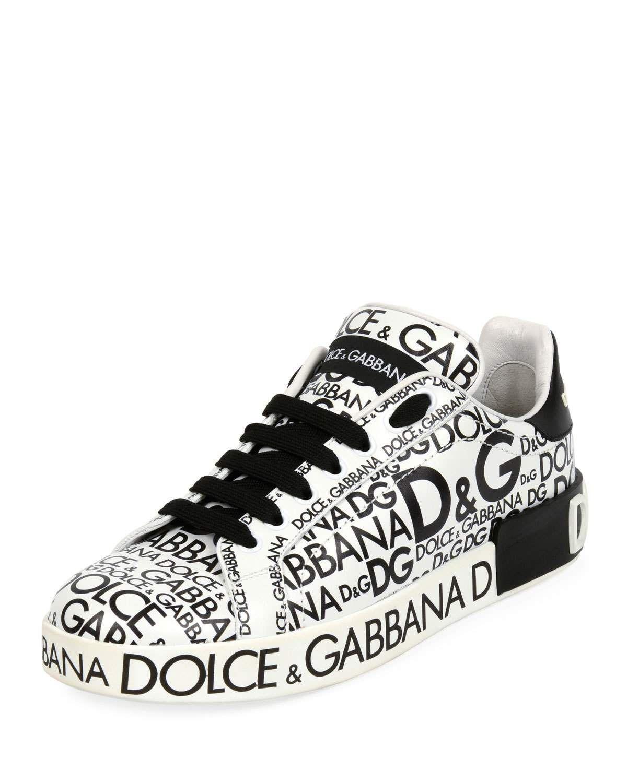Dolce \u0026 Gabbana Logo-Print Platform
