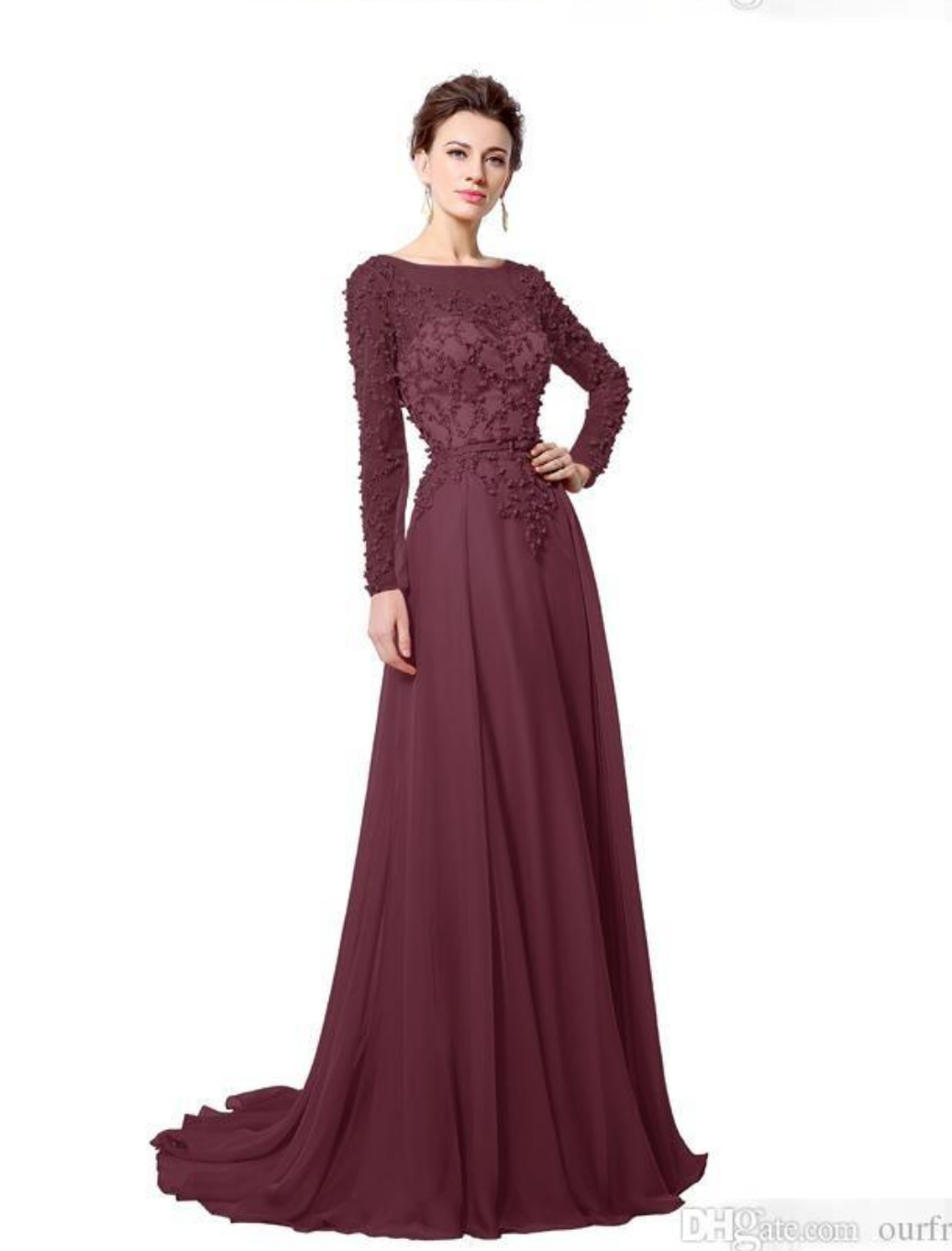 Real 2016 Elie Saab Long Evening Dress Illusion Jewel Neck Pearls Sash A Line  Floor Length 6375a38b2