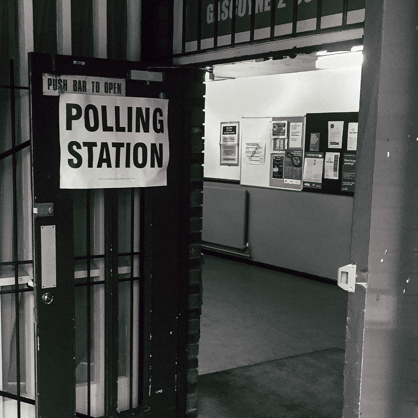 Voting in the rain #eureferendum