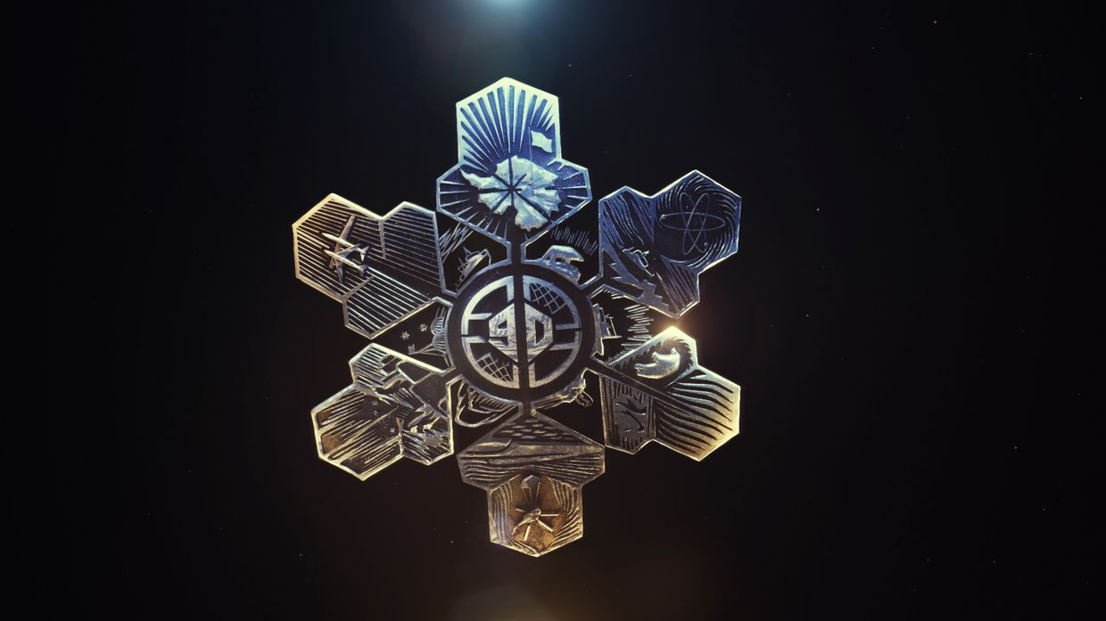 Snowflakes on Behance