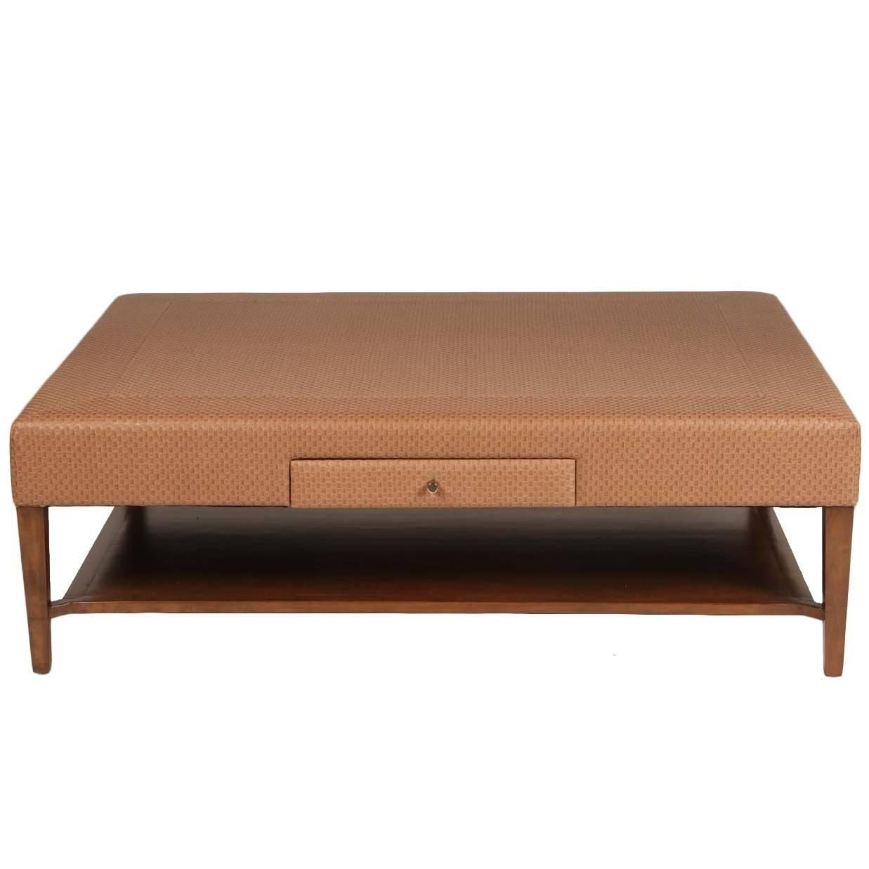 Scale Upholstered Coffee Table