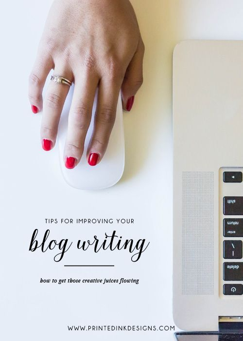If you struggle with writing blog posts for your business or blog, there are many different things you can do to help you get the creative juices flowing and the words on the screen. These 3 easy tips will help you improve your blog writing.