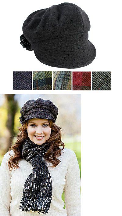 978daf94e02 Hats 45230  Women S Newsboy Cap 100% Wool Irish Made -  BUY IT NOW ONLY    56.95 on eBay!