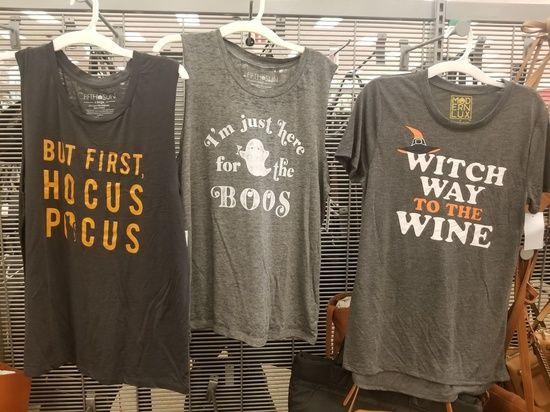 Target halloween shirts Fall 2018 #target #halloween Sarah Pavia
