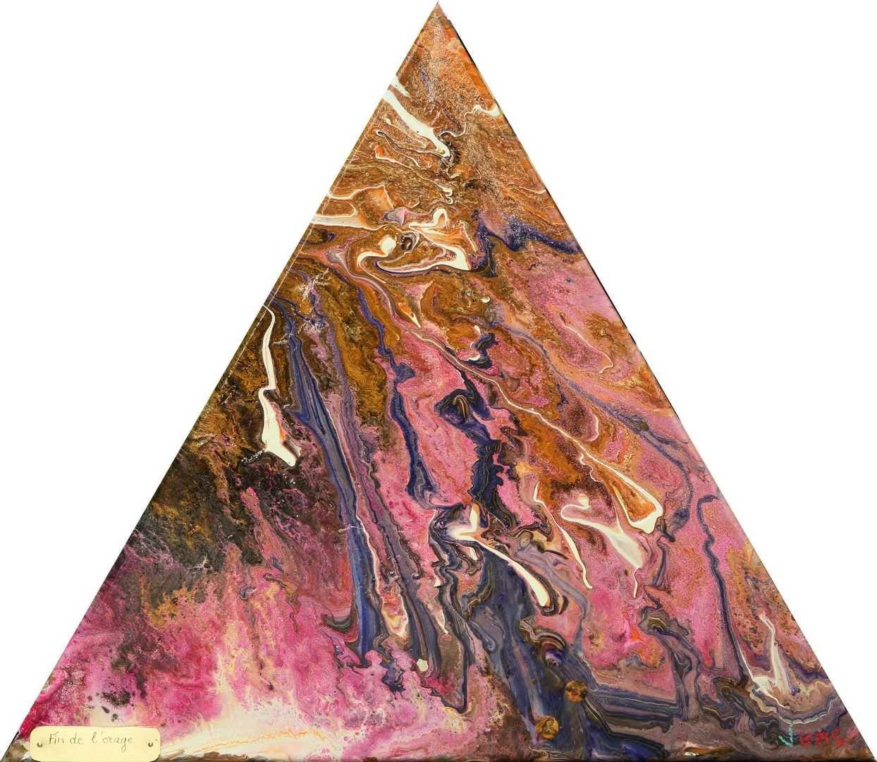 Cote Artiste Peintre Francais fin de l'orage oeuvre originale de l'artiste peintre vgas