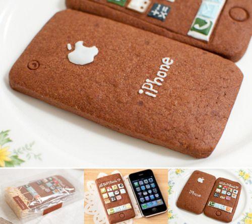 iPhone cookies… Ñaaam :-P    (Vía design-fetish)
