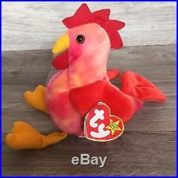 6f1035adbaa MISTAKES VERY RARE TY Beanie Babies Collection STRUT