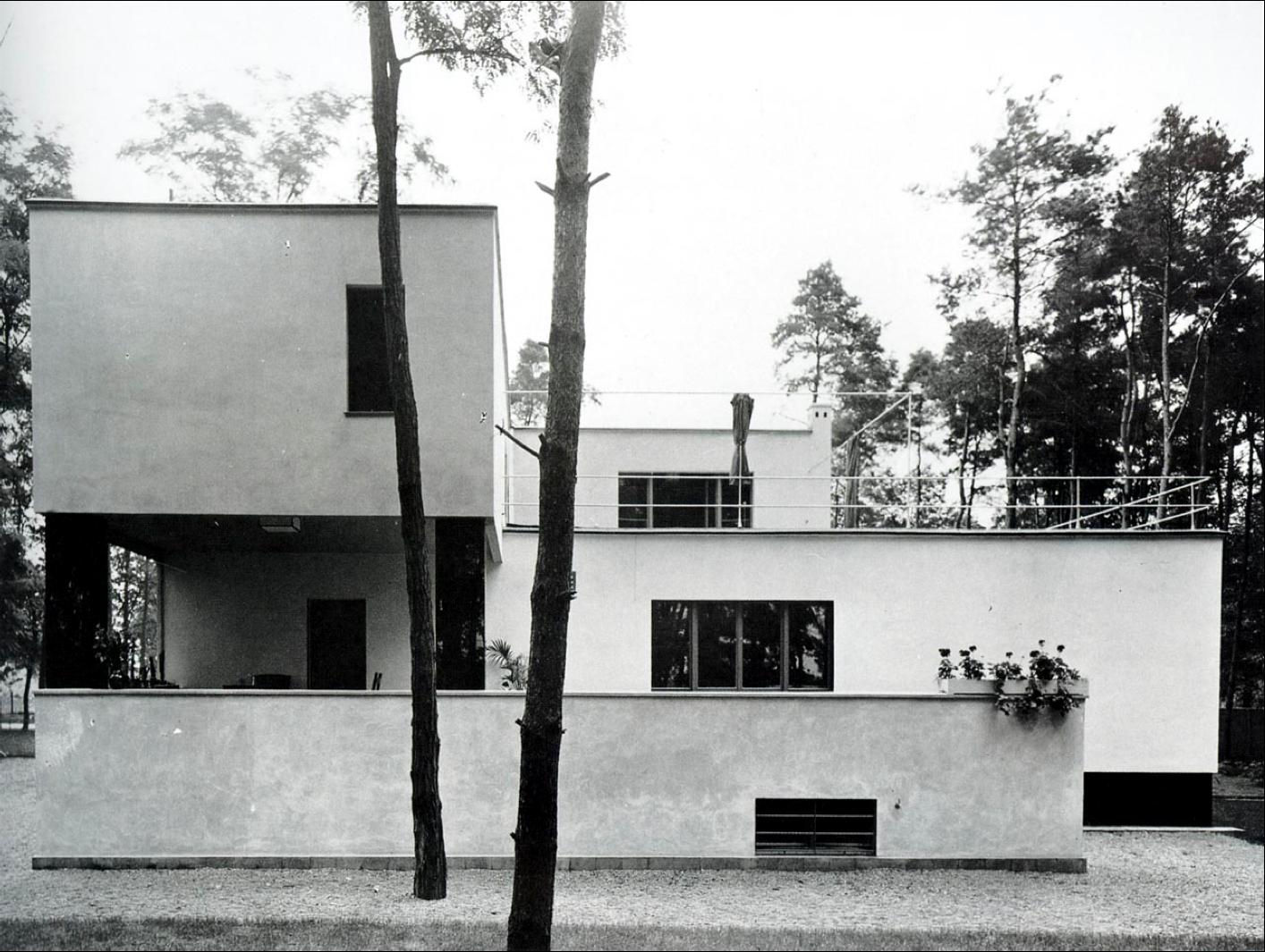 1925 1926 gropius 39 house in dessau walter gropius ernst neufert 1414 1065 arch. Black Bedroom Furniture Sets. Home Design Ideas