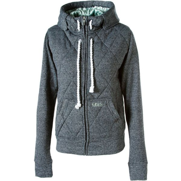 Matix Snow Day Full-Zip Hooded Sweatshirt - Women's from Dogfunk.com (81 CAD) found on Polyvore