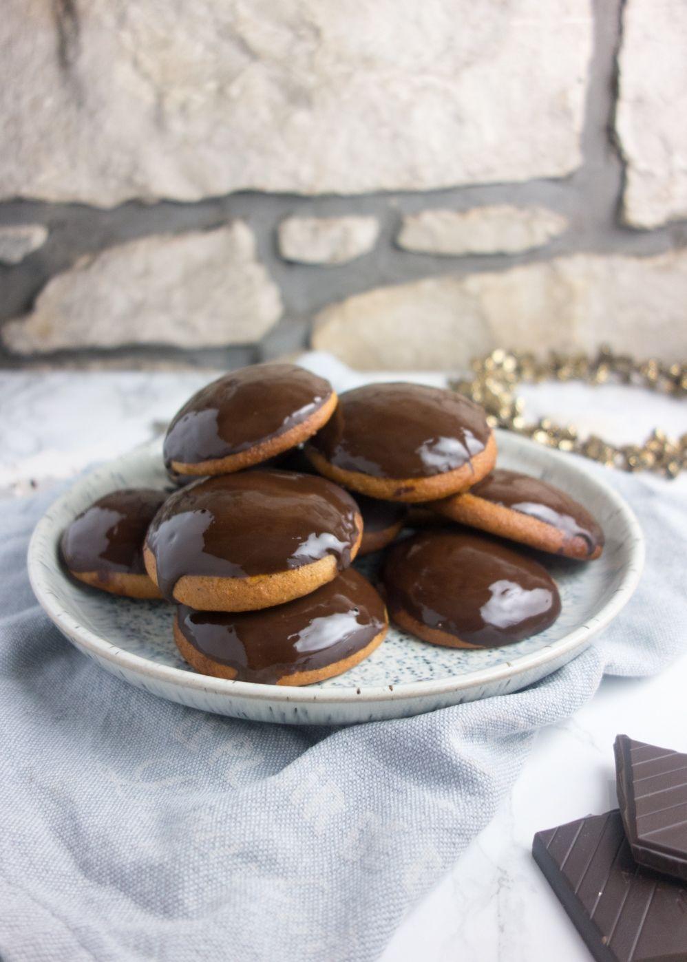 Dark Chocolate Lebkuchen German Biscuits