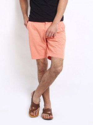 peach shorts mens