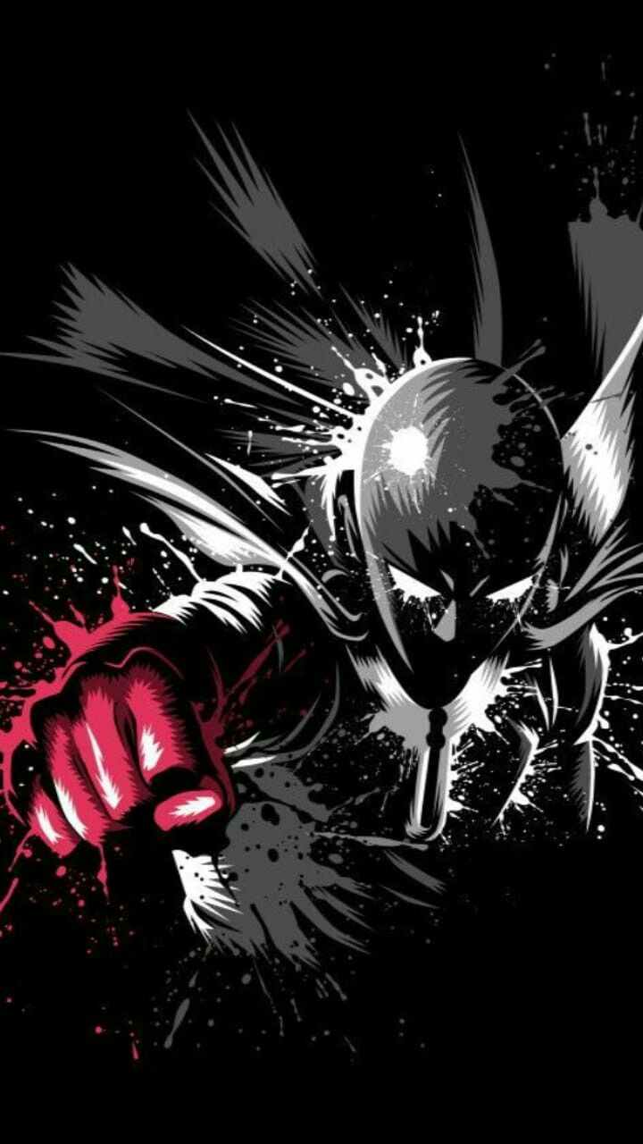 Wallpaper Saitama Hd Manga One Punch Man Anime One Punch Man Saitama One Punch