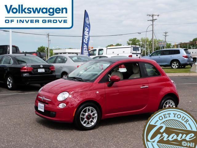 2012 Fiat 500, 36,385 miles, $11,778.