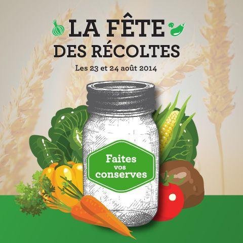 Conserves et recettes de la Fête des Récoltes