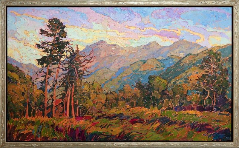 Mystic Valley Contemporary Impressionism Landscape Oil Paintings For Sale By Oil Painting Landscape Contemporary Landscape Painting Fine Art Prints Artists