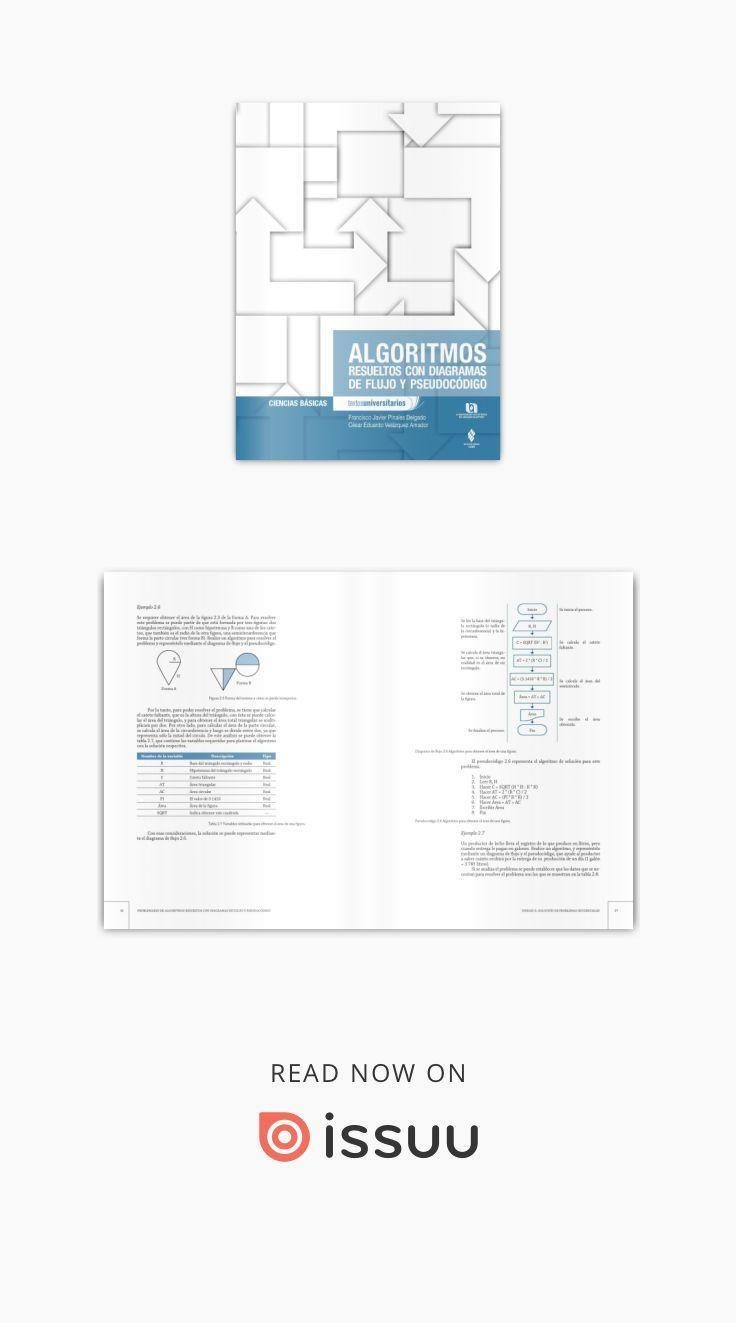 Algoritmos resueltos con diagramas de flujo y pseudocdigo algoritmos resueltos con diagramas de flujo y pseudocdigo francisco javier pinales delgado y csar eduardo velzquez ccuart Image collections