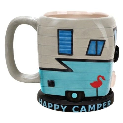 Happy Camper Coffee Mug - Coffee Mugs - Office Supplies