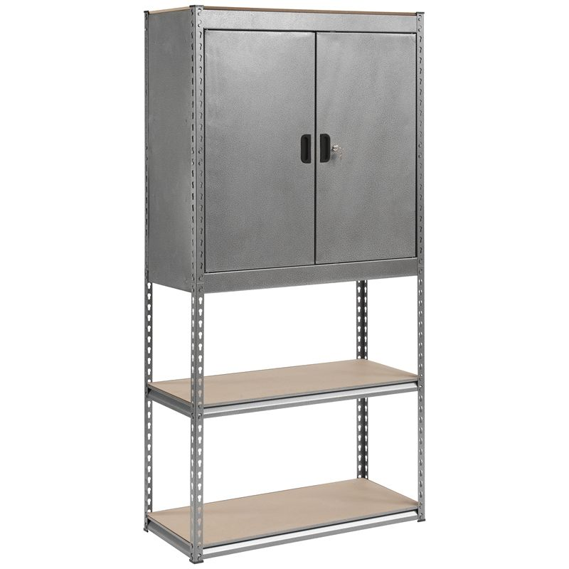 Handy Storage Boltless 5 Shelf Unit | Le office | Pinterest .