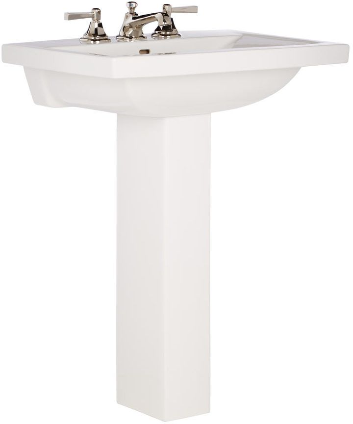 Modern Square Pedestal Sink Modern Square Sink Pedestal Sink