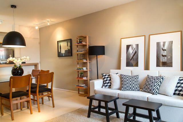 Helena kallas apartamento decorado construtora even for Lamparas para apartamentos pequenos