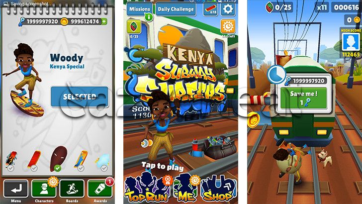 Subway Surfers Cheats | Android Game Cheats | Subway surfers