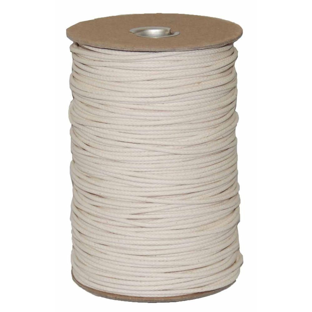 T W Evans Cordage 4 1 8 In X 600 Ft Duck Cotton Shade Cord Spool 34 4404d 6 The Home Depot Cotton Shade Coiled Fabric Bowl Sash Cord