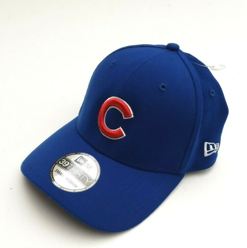 low priced fec31 8c8af ... denmark new era chicago cubs mlb team classic 39thirty flex fitted hat  blue size s m newera