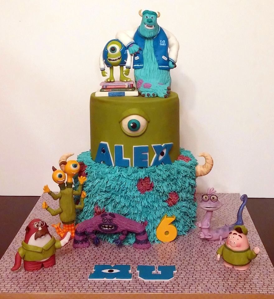 Monsters Inc. Cake I Katie Cakes