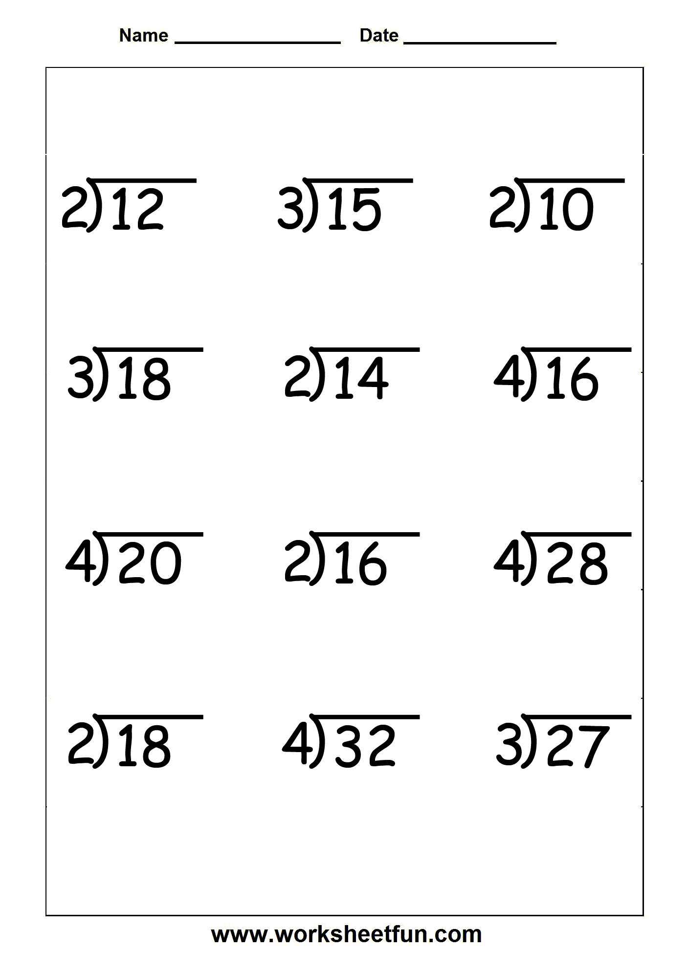 ... Multiplication And Division Worksheets. Noconformity Free Worksheet