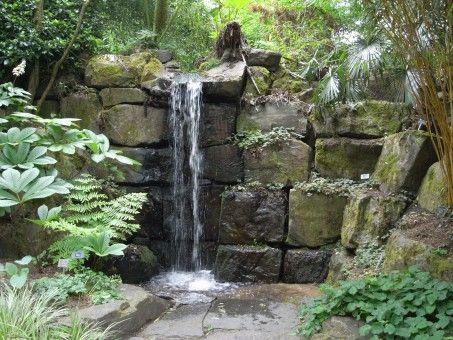 Como hacer una cascada para tu jardín The Yard Pinterest