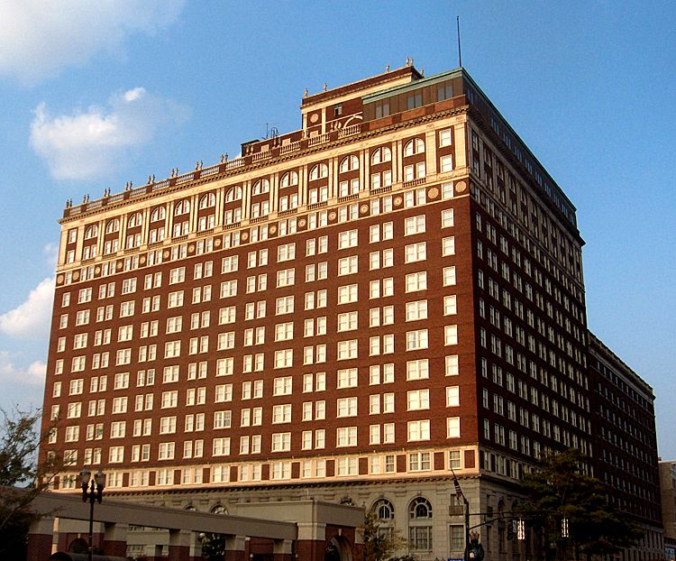 Brown Hotel Building And Theater In Downtown Louisville Kentucky