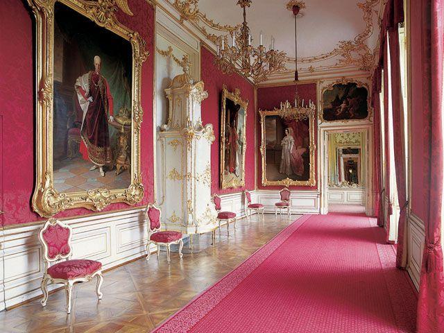 le salon rouge palais de sch nbrunn vienne autriche