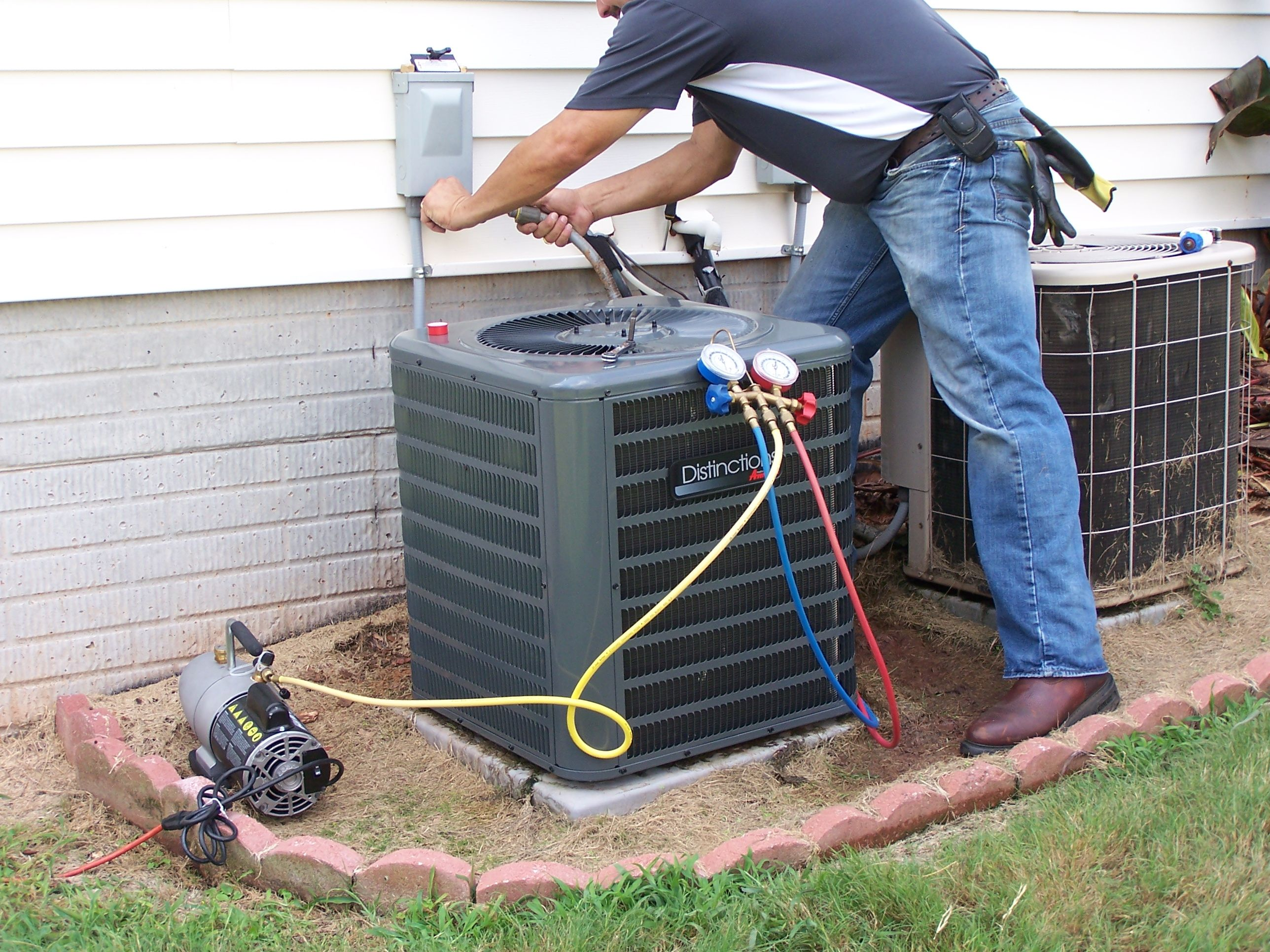 FAMOUS! 1800 HVAC heating and air conditioning repair in