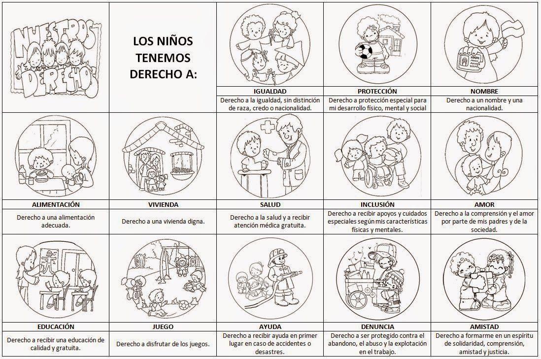 NiÑos Y Deberes Para Colorear: EL BARRIO DE MI COLE: HABILIDADES SOCIALES