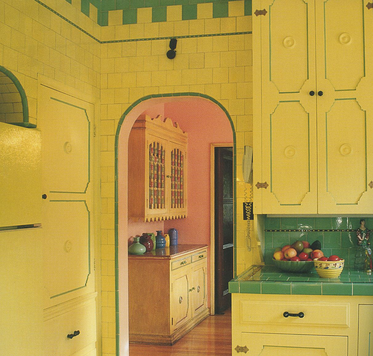 Original Cabinetry And Tile In 1931 Spanish Revival Westwood Home From Casa Californ Simple Kitchen Remodel Inexpensive Kitchen Remodel Kitchen Remodel Layout