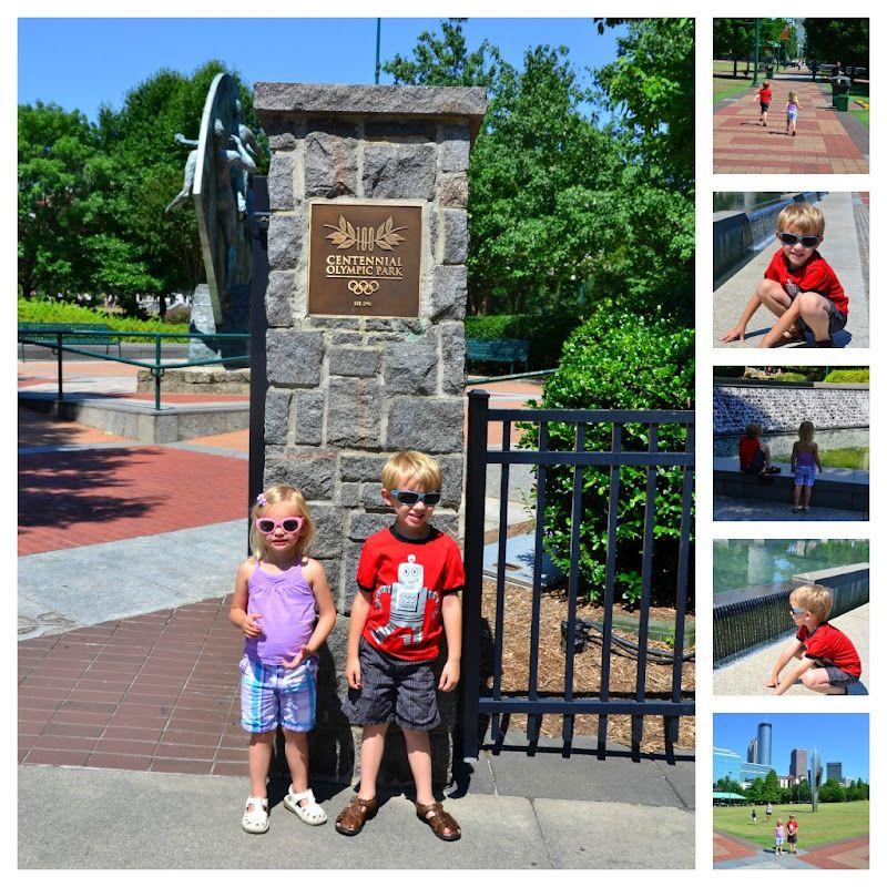 A Kid's Guide to Atlanta: Centennial Olympic Park