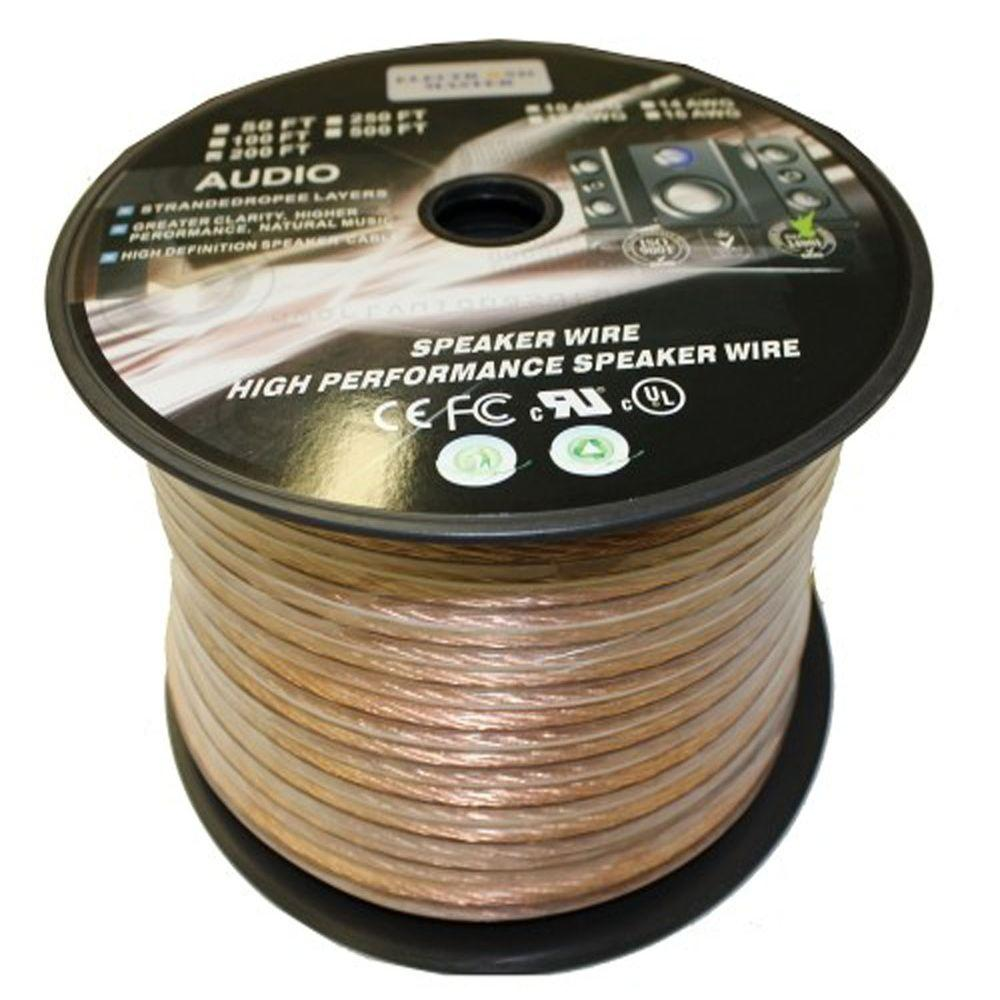 Homevision Technology Electronic Master 100 Ft 10 2 Stranded Speaker Wire Speaker Wire Wire Electronics