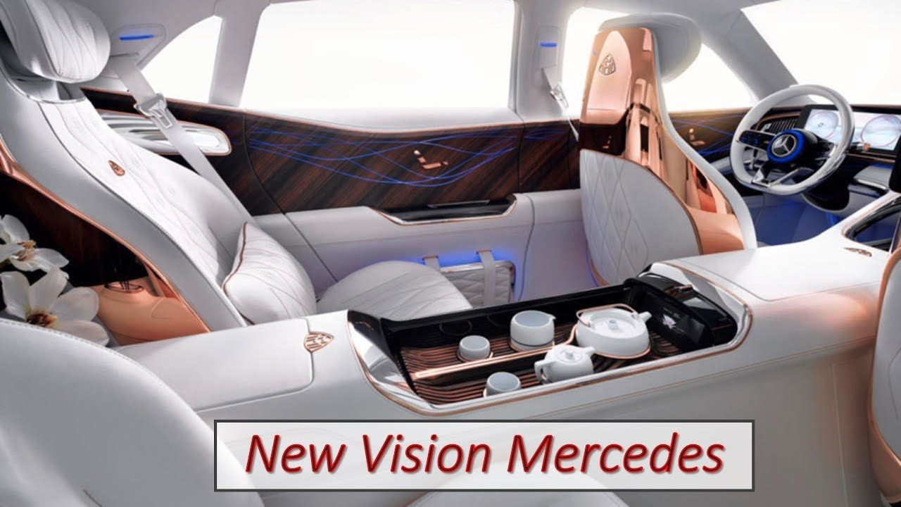 New Vision Mercedes Maybach Ultimate Luxury 2021 S Class W223