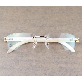 f57870a0e16c white buffalo horn cartier glasses.. hard as shit..
