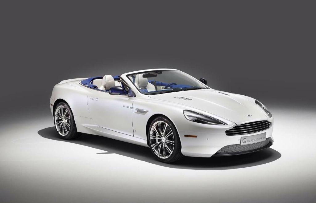 Aston Martin Db9 Volante Custom Lush Blue Interior My Future