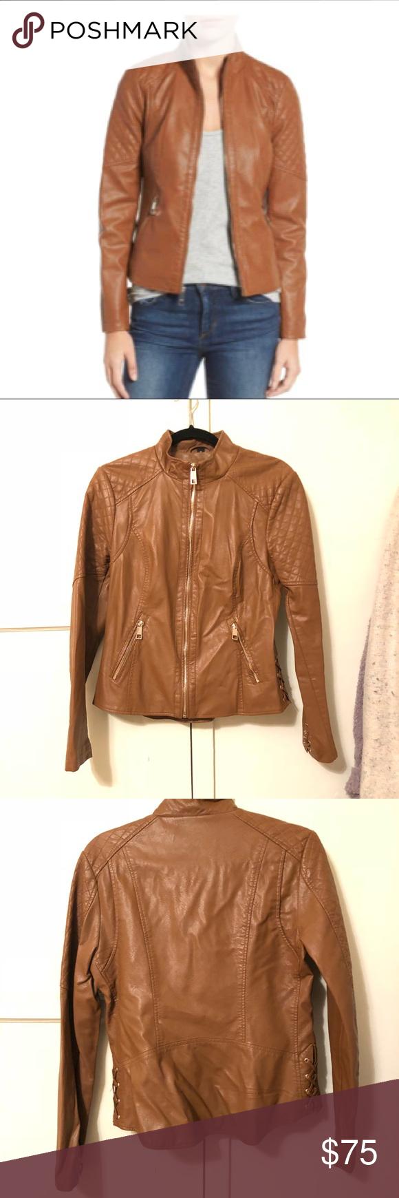 Guess Faux Leather Jacket Leather Jacket Faux Leather Jackets Jackets [ 1740 x 580 Pixel ]